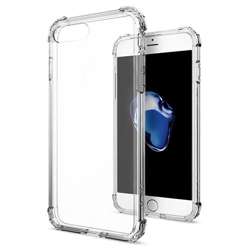 Чехол Spigen Crystal Shell для iPhone 7 Plus кристально-прозрачный (SGP-043CS20314)Чехлы для iPhone 7 Plus<br>Сочетание поликарбоната и полиуретана придают чехлу Crystal Shell превосходные защитные и амортизирующие свойства.<br><br>Цвет товара: Прозрачный<br>Материал: Термопластичный полиуретан TPU