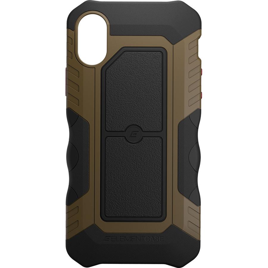 Чехол Element Case Recon для iPhone X коричневый CoyoteЧехлы для iPhone X<br>Element Case идут рука об руку со всеми новыми iPhone, создавая им самую лучшую защиту из всех возможных.<br><br>Цвет: Коричневый<br>Материал: Поликарбонат (PC), термопластичный полиуретан (TPU)