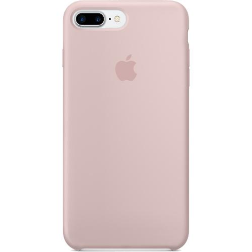Силиконовый чехол Apple Case для iPhone 7 Plus (Айфон 7 Плюс) розовый песокЧехлы для iPhone 7 Plus<br>Apple Case специально созданы для iPhone 7 Plus!<br><br>Цвет товара: Розовый<br>Материал: Силикон