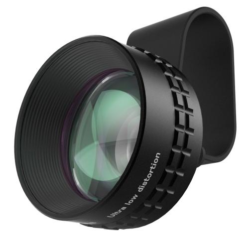 Объектив Aukey PL-BL01 (Optic Pro 2X Telephoto Lens) для смартфонов и планшетовОбъективы<br>Aukey PL-BL01 отличается высоким контрастом изображения по всему полю кадра!<br><br>Цвет: Чёрный<br>Материал: Алюминий, оптическое стекло