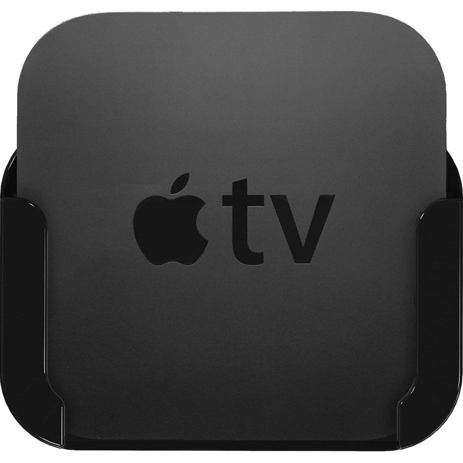 Держатель Innovelis TotalMount для Apple TV чёрныйApple TV и Chromecast<br>Одно из лучших креплений для вашей телевизионной приставки Apple TV.<br><br>Цвет товара: Чёрный<br>Материал: Пластик