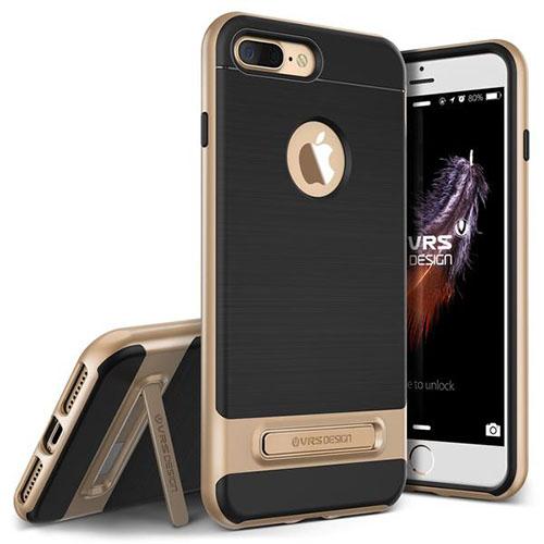 Чехол Verus High Pro Shield для iPhone 7 Plus (Айфон 7 Плюс) золотистый (VRIP7P-HPSGD)Чехлы для iPhone 7 Plus<br>Чехол Verus для iPhone 7 Plus High Pro Shield, шампань (904636)<br><br>Цвет товара: Золотой<br>Материал: Полкикарбонат, полиуретан
