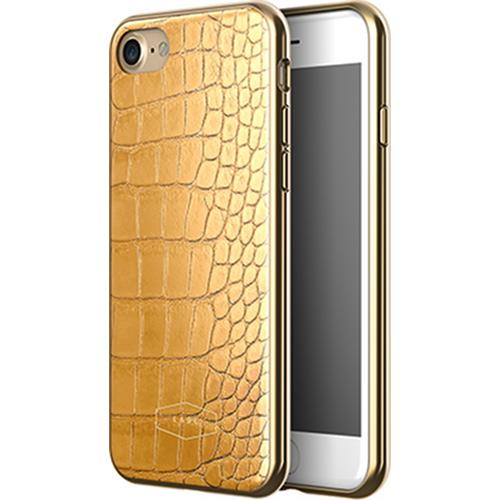 Чехол LAB.C Crocodile Case для iPhone 7 жёлтыйЧехлы для iPhone 7<br>С чехлом LAB.C Crocodile Case вы будете спокойны за сохранность своего Айфона и при этом сможете поразить окружающих премиум аксессуаром.<br><br>Цвет товара: Жёлтый<br>Материал: Поликарбонат, полиуретан