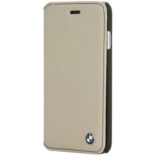 Чехол BMW Bicolor Booktype для iPhone 6 Plus серый/чёрныйЧехлы для iPhone 6/6s Plus<br>Чехол BMW iPhone 6+ Bicolor Booktype Grey/Black<br><br>Цвет товара: Серый<br>Материал: Натуральная кожа