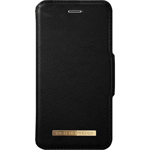 Чехол iDeal of Sweden Fashion Wallet для iPhone 6 Plus/7 Plus/8 Plus чёрныйЧехлы для iPhone 6/6s Plus<br>Fashion Wallet от шведской компании iDeal of Sweden — это высококлассный чехол-книжка ручной работы, изготовленный из качественной сафьяновой кожи.<br><br>Цвет товара: Чёрный<br>Материал: Сафьяновая кожа, пластик, текстиль