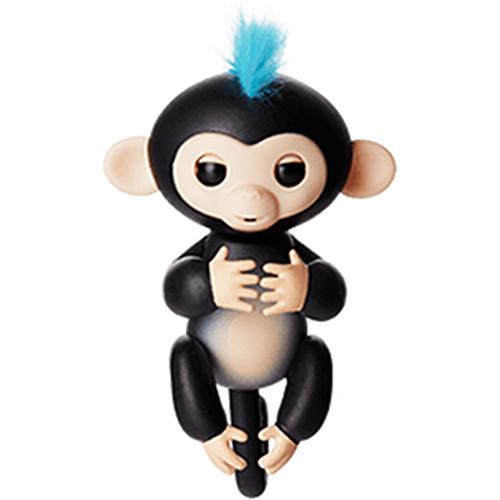 Интерактивная обезьянка Fingerlings Finger Monkey ФИНН чёрнаяЖивотные<br>Познакомьтесь с семейством дружелюбных обезьянок Fingerlings.<br><br>Цвет товара: Чёрный<br>Материал: Пластик, искусственный ворс, металл (все материалы безопасны для детей)