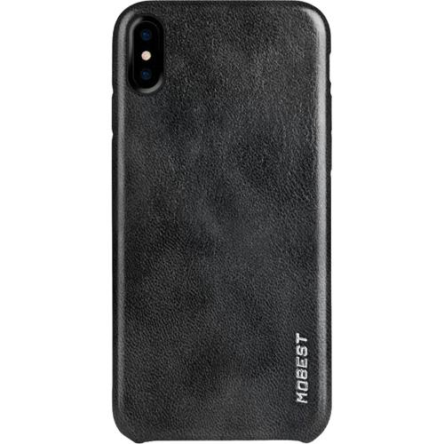 Чехол Mobest Elite Series для iPhone X чёрныйЧехлы для iPhone X<br>Mobest Elite Series — изысканный и высококачественный чехол, изготовленный из «дышащей» полиуретановой кожи (экокожи).<br><br>Цвет товара: Чёрный<br>Материал: Экокожа, пластик
