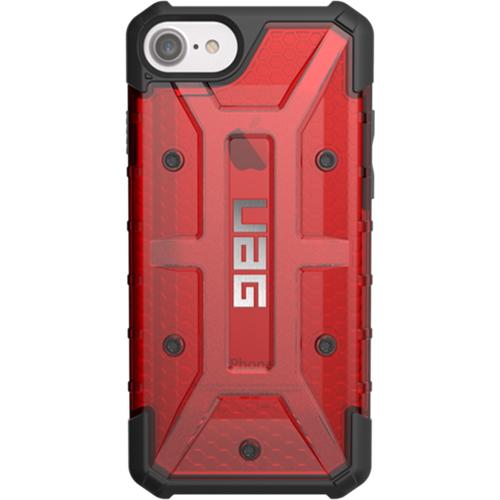 Чехол UAG Plasma Series Case для iPhone 6/6s/7/8 красный MagmaЧехлы для iPhone 6/6s<br>Чехлы от компании Urban Armor Gear разработаны и спроектированы таким образом, чтобы обеспечить максимальную защиту вашему смартфону, при этом со...<br><br>Цвет товара: Красный<br>Материал: Пластик