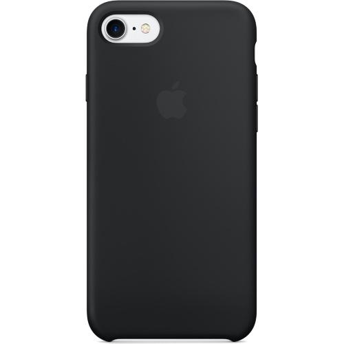 Силиконовый чехол Apple Case для iPhone 7 (Айфон 7) чёрныйЧехлы для iPhone 7<br>Силиконовый чехол  Apple Case для iPhone 7 - Black<br><br>Цвет товара: Чёрный<br>Материал: Силикон