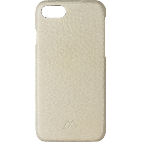 Чехол Moodz Floter leather Hard для iPhone 7 (Айфон 7) Eggshel бежевый
