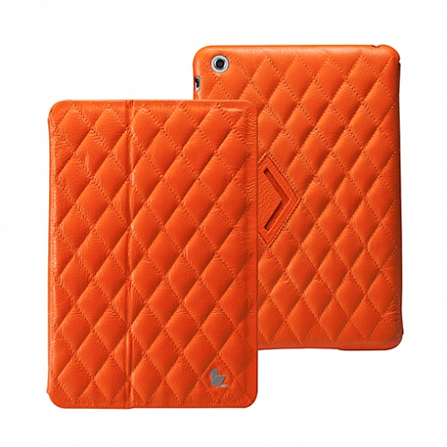 Чехол Jison Matelasse Leather Cover для iPad mini / iPad mini Retina оранжевый