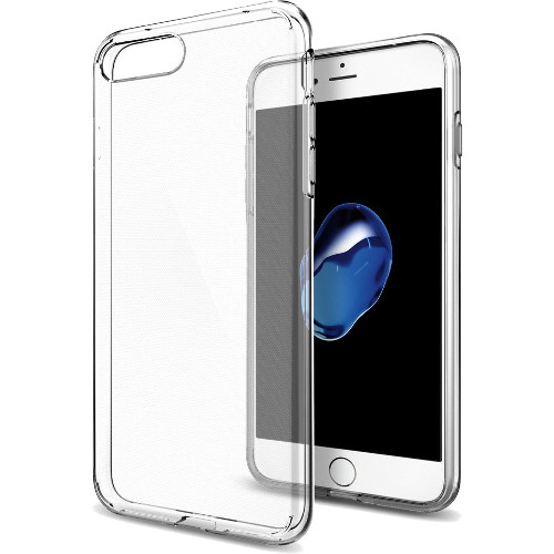 Чехол Spigen Liquid Crystal для iPhone 7 Plus (Айфон 7 Плюс) кристально-прозрачный (SGP-043CS20479)Чехлы для iPhone 7/7 Plus<br>Spigen Liquid Crystal создан для тех, кого привлекает минимализм и оригинальность форм.<br><br>Цвет товара: Прозрачный<br>Материал: Термопластичный полиуретан TPU