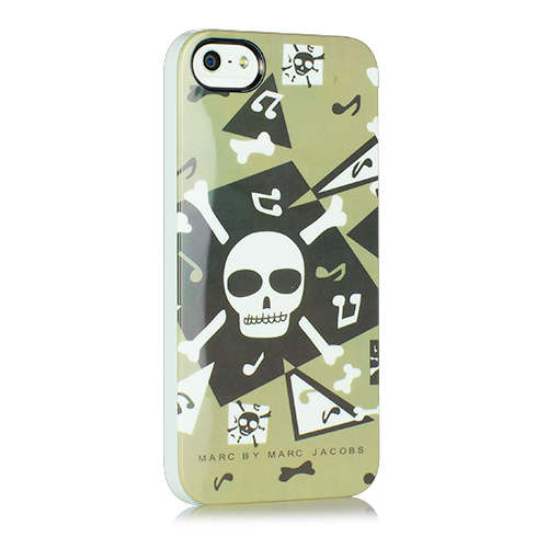 Чехол Marc by Marc Jacobs Scull для iPhone 5/5S/SE зелёный