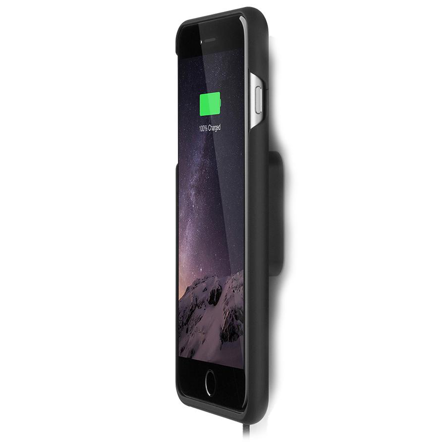 Комплект XVIDA Wireless Charging Home Kit (настенное зарядное устройство + чехол) для iPhone 7 Plus чёрныйДокстанции/подставки<br>Благодаря этому набору вы сможете заряжать свой смартфон невероятно быстро и просто.<br><br>Цвет товара: Чёрный<br>Материал: Пластик, металл