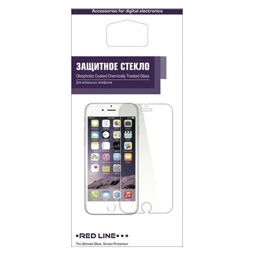 Защитное стекло Red Line для iPhone 6 Plus/6S Plus 0.2 ммСтекла/Пленки на смартфоны<br>Защитное стекло RED LINE для iPhone 6 Plus/6S Plus 5.5 0.2mm<br><br>Цвет товара: Прозрачный<br>Материал: Стекло