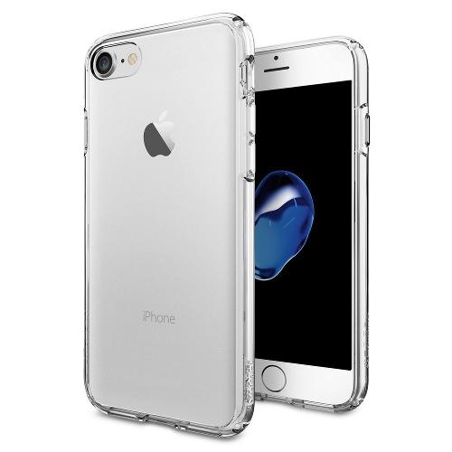 Чехол Spigen Ultra Hybrid для iPhone 7 (Айфон 7) кристально-прозрачный (SGP-042CS20443)Чехлы для iPhone 7<br>Чехол Spigen Ultra Hybrid для iPhone 7 (Айфон 7) кристально-прозрачный (SGP-042CS20443)<br><br>Цвет товара: Прозрачный<br>Материал: Поликарбонат, полиуретан