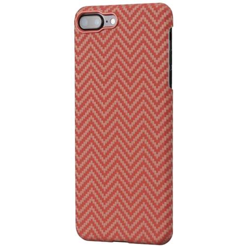 Чехол PITAKA MagCase для iPhone 7 Plus/8 Plus красный карбонЧехлы для iPhone 7 Plus<br>PITAKA MagCase — воплощение стильного дизайна, феноменальной прочности и впечатляющей функциональности.<br><br>Цвет: Красный<br>Материал: Арамид<br>Модификация: iPhone 5.5