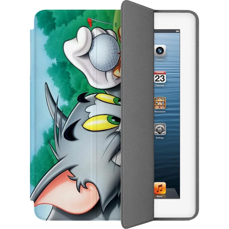 Чехол Muse Smart Case для iPad 2/3/4 Том и ДжерриЧехлы для iPad 1/2/3/4<br>Чехлы Muse — это индивидуальность, насыщенность красок, ультрасовременные принты и надёжность.<br><br>Цвет: Разноцветный<br>Материал: Эко-кожа, поликарбонат