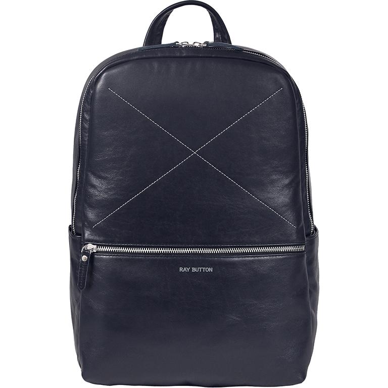Рюкзак Ray Button Hastings для MacBook 13 Night Blue (701C201)Рюкзаки<br>Ray Button Hastings - это стильный и удобный аксессуар на каждый день.<br><br>Цвет товара: Синий<br>Материал: Натуральная кожа, текстиль