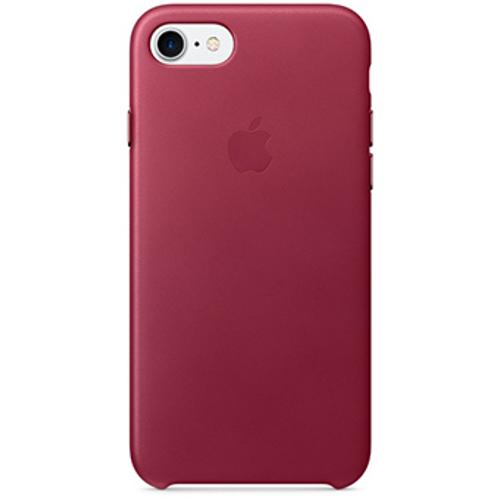 Кожаный чехол Apple Case для iPhone 7 (Айфон 7) лесная ягодаЧехлы для iPhone 7<br>Высококачественный кожаный чехол Apple Case для Вашего iPhone 7!<br><br>Цвет: Розовый<br>Материал: Натуральная кожа