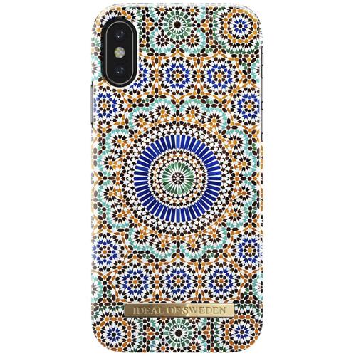 Чехол iDeal of Sweden Fashion Case для iPhone X (Moroccan Zellige)Чехлы для iPhone X<br>Чехол iDeal of Sweden Fashion Case станет истинным украшением самого лучшего смартфона!<br><br>Цвет товара: Разноцветный<br>Материал: Пластик, замша