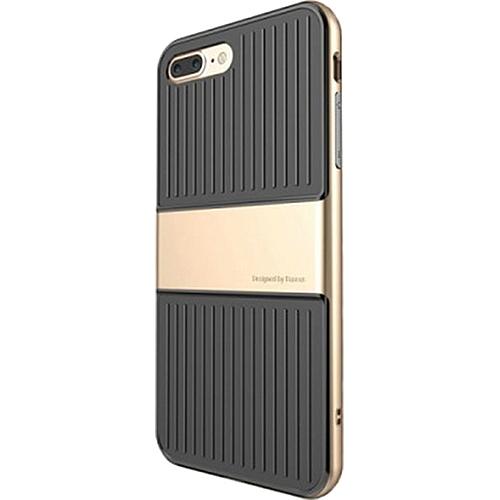 Чехол Baseus Travel Case для iPhone 7 Plus золотистыйЧехлы для iPhone 7 Plus<br>Чехол Baseus Travel Case для iPhone 7 Plus - золотистый<br><br>Цвет товара: Золотой<br>Материал: Поликарбонат, термопластичный полиуретан