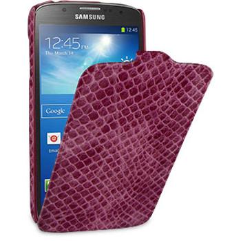 Чехол TETDED Troyes Wild для Samsung Galaxy S4 Розовый ЗмеяЧехлы для Samsung Galaxy S4<br>TETDED Troyes Wild подчеркивает изящные линии Samsung Galaxy S4.<br><br>Цвет товара: Розовый<br>Материал: Кожа, пластик