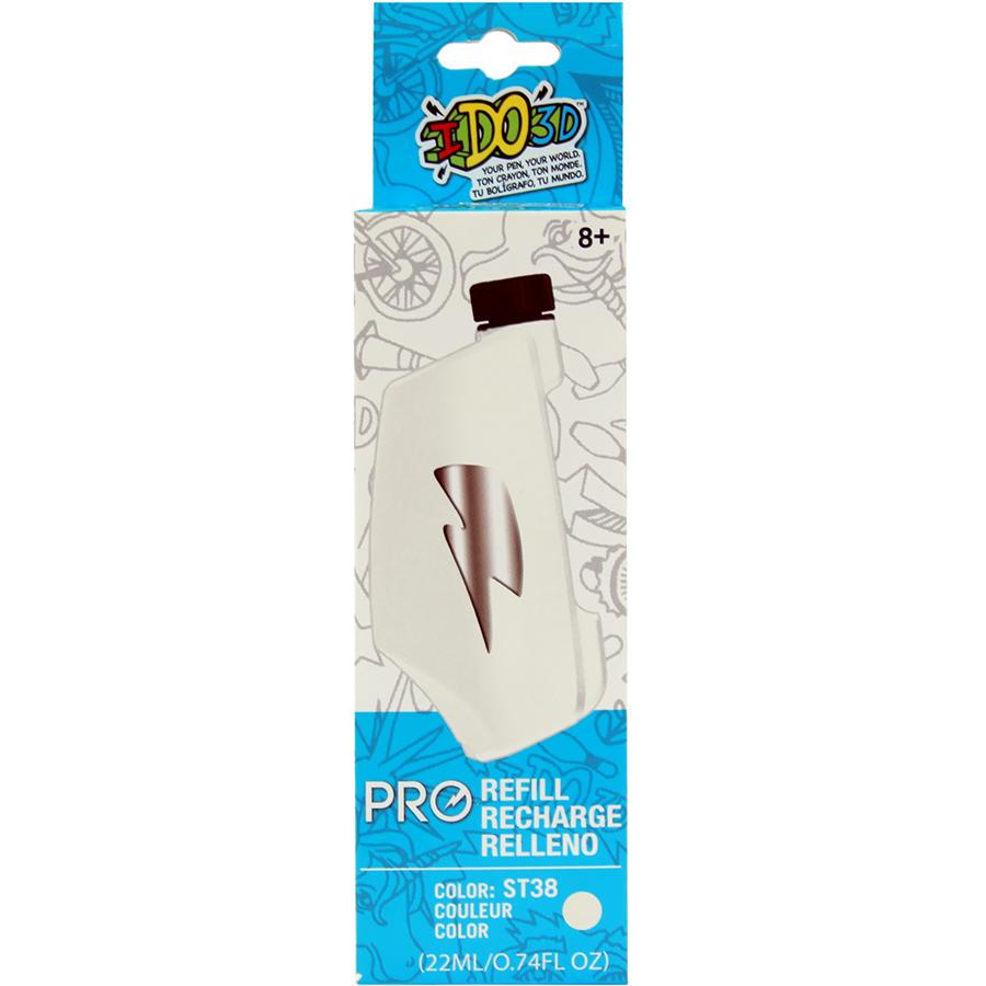 Картридж для 3D ручки IDO3D Vertical Pro белыйНаборы пластика и аксессуары<br>Благодаря IDO3D Vertical Pro профессиональные художники, дизайнеры и архитекторы смогут открыть для себя совершенно новые способы творчества и ра...<br><br>Цвет: Белый<br>Материал: PLA пластик