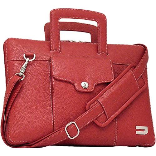 Сумка-чехол Urbano Compact Brief для MacBook Pro 13 Touch Bar краснаяСумки для ноутбуков<br>Urbano Compact Brief - роскошная и функциональная сумка!<br><br>Цвет товара: Красный<br>Материал: Натуральная кожа, текстиль