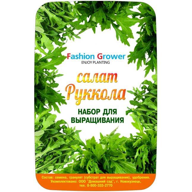 Набор для выращивания Fashion grower «Руккола»Умные сады и фермы<br>Набор для выращивания Fashion grower Руккола<br><br>Цвет: Разноцветный<br>Материал: Пластик