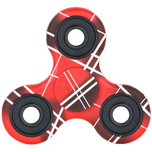 Спиннер DODO Print Series Красный с полосамиИгрушки-антистресс<br>DODO Print Series - стильный и яркий спиннер!<br><br>Цвет: Красный<br>Материал: Металл