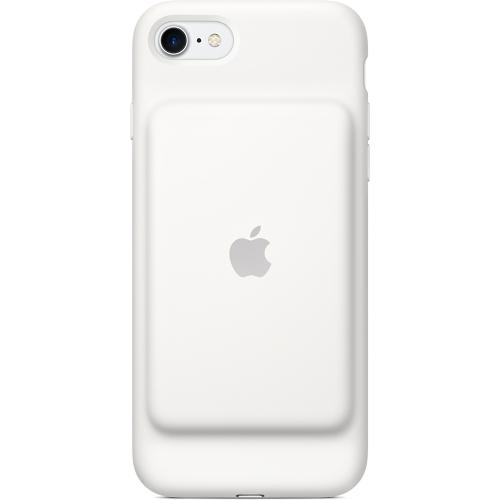 Чехол-аккумулятор Apple Smart Battery Case для iPhone 7 (Айфон 7) белыйЧехлы для iPhone 7<br>«Умный» чехол Apple Smart Battery Case создан специально для защиты и резервного питания вашего iPhone 7.<br><br>Цвет товара: Белый<br>Материал: Силикон