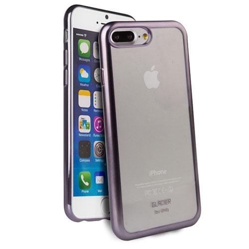 Чехол Uniq Glacier Frost для iPhone 7 Plus (Айфон 7 Плюс) стальнойЧехлы для iPhone 7/7 Plus<br>Чехол Uniq Glacier Frost для iPhone 7 Plus (Айфон 7 Плюс) стальной<br><br>Цвет товара: Фиолетовый<br>Материал: Поликарбонат, полиуретан
