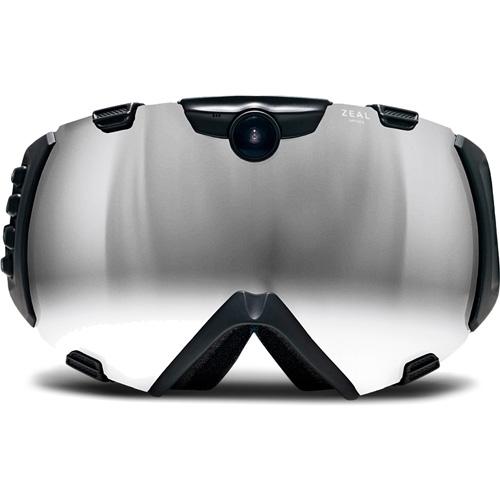 Интеллектуальные горнолыжные очки с видоискателем Zeal Optics iON HD Camera GoggleВидеокамеры, очки, экшн-камеры<br>Zeal Optics iON HD Camera Goggle — это интеллектуальные очки для горнолыжников, сноубордистов и других любителей экстремального зимнего спорта.<br><br>Цвет товара: Чёрный<br>Материал: Пластик