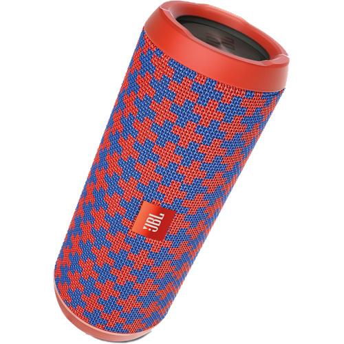Портативная акустическая система JBL Flip 4 Special Edition MaltaКолонки и акустика<br>Портативная и водонепроницаемая беспроводная акустическая система JBL Flip 4 с мощным звучанием.<br><br>Цвет товара: Красный<br>Материал: Текстиль, пластик