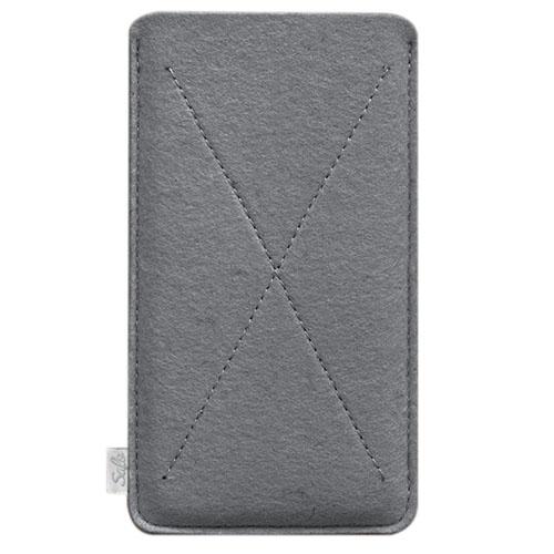 Чехол Handwers Cross для iPhone 6 Plus/6s Plus/7 Plus/8 Plus серыйЧехлы для iPhone 7 Plus<br>Чехол Handwers Cross для iPhone 6/6s Plus Серый<br><br>Цвет товара: Серый<br>Материал: Войлок