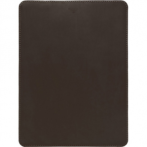 "Кожаный чехол With Love. Moscow Classic для MacBook 12"" (Dark Chocolate) тёмный шоколад"