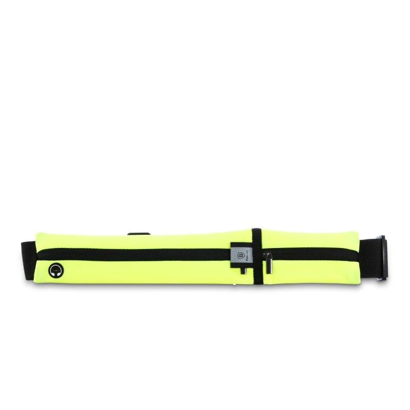 Сумка на пояс Baseus Sport Pocket Belt зелёнаяСумки и аксессуары для путешествий<br>Благодаря Baseus Sport Pocket Belt вы сможете взять с собой всё самое необходимое.<br><br>Цвет товара: Зелёный<br>Материал: Водостойкий нейлон, лайкра