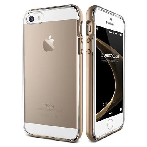 Чехол Verus Crystal Bumper для iPhone 5/5S/SE (904500)Чехлы для iPhone 5s/SE<br>Чехол Verus Crystal Bumper для iPhone 5/5S/SE золотистый (904500)<br><br>Цвет товара: Золотой<br>Материал: Пластик, резина