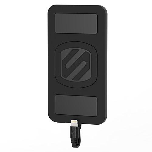 Дополнительный аккумулятор Scosche MagicMount PowerBank 4000 мАч для iPhone/iPod/iPad чёрныйВнешние аккумуляторы<br>Scosche MagicMount PowerBank - это уникальный внешний аккумулятор для гаджетов Apple!<br><br>Цвет товара: Чёрный<br>Материал: Пластик