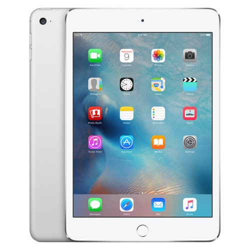 Apple iPad mini 4 128 Гб Wi-Fi + Cellular серебристый от iCases