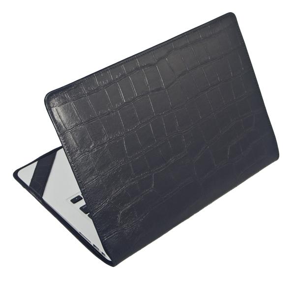 Чехол-обложка Alexander для MacBook Air 11 черепаха чёрнаяЧехлы для MacBook Air 11<br>Элегантный и надежный чехол для MacBook Air 11 от Alexander.<br><br>Цвет товара: Чёрный<br>Материал: Натуральная кожа