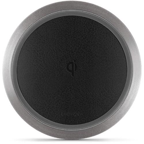 Беспроводное зарядное устройство EnergEA WiDisc Fast Wireless Pad чёрноеСетевые зарядки<br>С помощью EnergEA WiDisc Fast wireless Pad вы сможете зарядить свой смартфон с поддержкой Qi гораздо быстрее, чем от обычной сетевой зарядки.<br><br>Цвет товара: Чёрный<br>Материал: Алюминий, пластик, экокожа