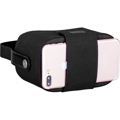 Шлем виртуальной реальности Momax Stylish VR Box для смартфонов 4,7-5,7 черный (VR1D)Очки виртуальной реальности<br>Шлем виртуальной реальности Momax Stylish VR Box для смартфонов черный (VR1D)<br><br>Цвет товара: Чёрный<br>Материал: Текстиль, пластик