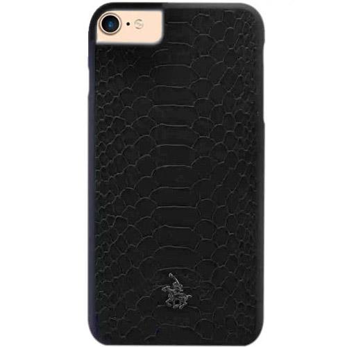 Чехол Santa Barbara Polo Knight Series для iPhone 7/ iPhone 8 питон чёрныйЧехлы для iPhone 7<br>Santa Barbara Polo Knight Series защитит Ваш iPhone 7 от внешних воздействий.<br><br>Цвет товара: Чёрный