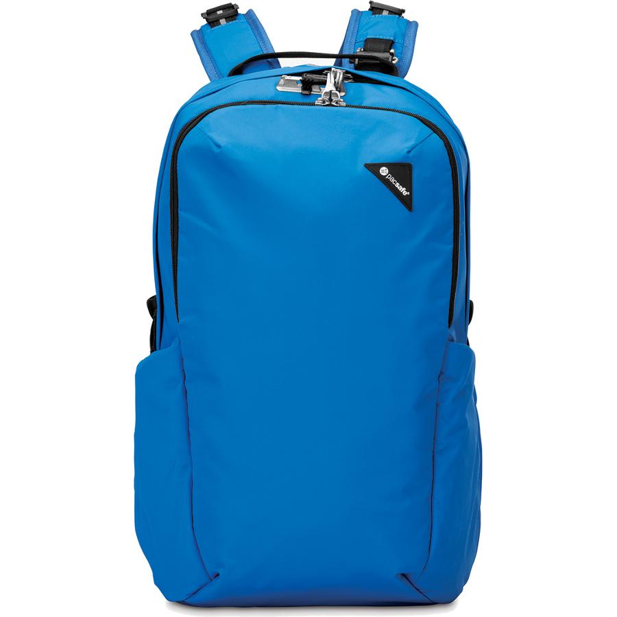 Рюкзак Pacsafe Vibe 25 синийРюкзаки<br>Вместительный и комфортный рюкзак Pacsafe Vibe 25 Black обеспечит максимальную защиту для ваших вещей!<br><br>Цвет товара: Синий<br>Материал: Текстиль, нержавеющая сталь, пластик
