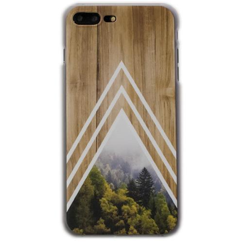 Чехол iPapai «Wood» (Белый лес) для iPhone 7 PlusЧехлы для iPhone 7 Plus<br>Стильный и надёжный чехол iPapai с уникальным дизайнерским принтом.<br><br>Цвет товара: Разноцветный<br>Материал: Пластик