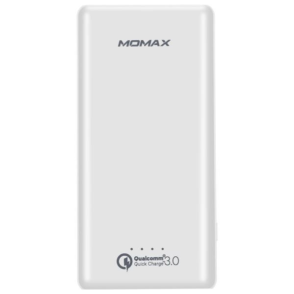 Внешний аккумулятор Momax iPower Minimal 3.0 External Battery 10000 мАч белыйДополнительные и внешние аккумуляторы<br>Momax iPower Minimal 3.0 External Battery - мощный и элегантный внешний аккумулятор!<br><br>Цвет товара: Белый<br>Материал: Поликарбонат