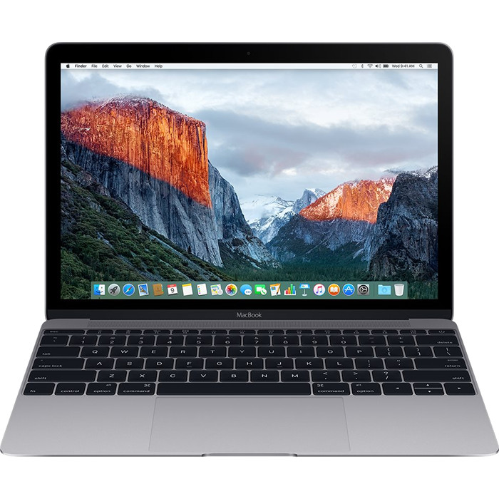 Ноутбук Apple MacBook 12, Intel Core m3 1,2 ГГц, 8 ГБ, Intel HD Graphics 615, SSD 256Gb Space Gray (MNYF2) Mid 2017MacBook 12<br>Apple MacBook 12, Intel Core m3 1,2 ГГц, 8 ГБ, Intel HD Graphics 615, SSD 256Gb Space Gray (MNYF2) Mid 2017<br><br>Цвет товара: Серый космос<br>Материал: Металл<br>Модификация: 256 Гб