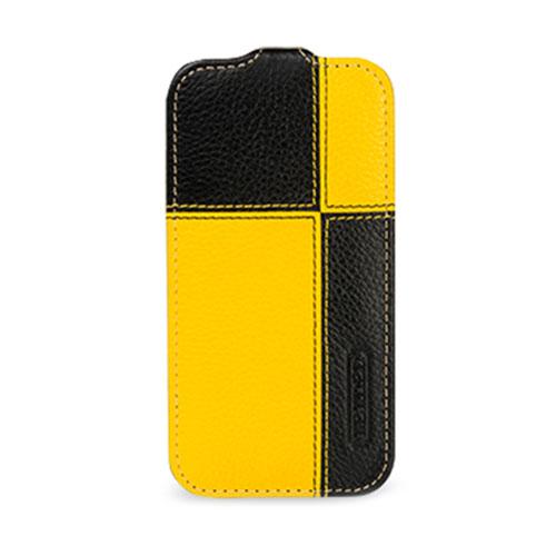 Чехол TETDED Troyes Plutus для Samsung GALAXY S4 жёлтый/чёрныйЧехлы для Samsung Galaxy S4<br>TETDED Troyes Plutus — именно то, что вам нужно!<br><br>Цвет товара: Жёлтый<br>Материал: Кожа, пластик